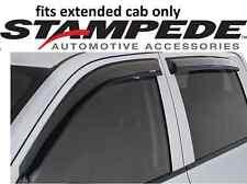 Stampede Tape-Onz Sidewind Deflector 00-06 for GMC Sierra Silverado extended cab