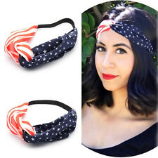 Women Ladies Fashion Yoga Elastic Turban Twisted Knotted Hair Band Headband Nice