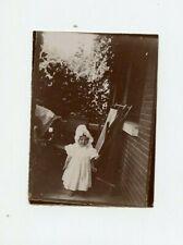 Vintage Photo 1899 Younger sister of Madeliene Lesbre Allier France