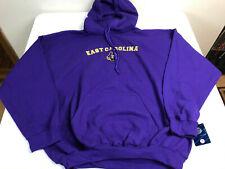 Medium Elite Fan Shop East Carolina Pirates Hooded Sweatshirt Varsity Purple
