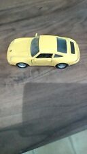 Maisto Porsche 911 Carrera - Yellow - Scale 1:36 - Great condition