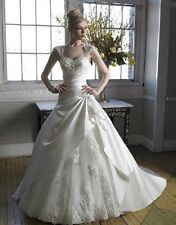 White Strapless Wedding Dress Moonlight Collection