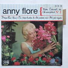 anny FLORE Mon carnet de chansons N°2 EG 796EG 796