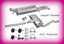 Abgasanlage Auspuff Audi A4 (B5) 2.5 TDi Limousine (8D2) & Avant (8D5) +Anbaukit