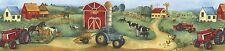 Green Acres Farm for Kids Wallpaper Border GU79260
