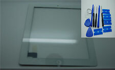 Brandneu iPad 3, iPad 4 Digitizer, Touch-Screen, Frontglas Weiß, 3M Klebstoffe