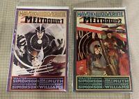 HAVOK & WOLVERINE MELTDOWN 1 And 2 Graphic  Novel BRAND NEW