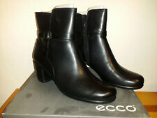 9129c60675e Womens EUR 41 US 10 10.5 ECCO Touch 55 Leather Ankle Boot Black