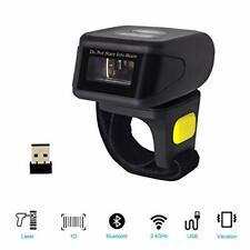Alacrity Portable 1D Laser Bluetooth Barcode Scanner,Handheld Mini