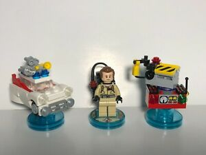 Lego Dimensions Ghostbusters Peter Venkman Level Pack 71228