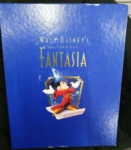 Walt Disneys Masterpiece Fantasia Litho / Cd / VHS Box Collectors Edition