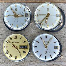 Bulova Accutron Wrist Watch Movements - Series 218 D, 2181, 2182 - Tuning Fork