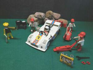 Playmobil ***Rarität*** Rennwagen-Racing 3520-A/1979, mehr Zubehör, ohne OVP!