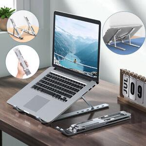 Aluminum Foldable Laptop Stand Desk Tablet Holder Portable Adjustable Bracket