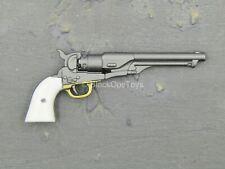 1/6 Scale Toy Western Set - Gun Metal Grey Army Model 1860 Revolver
