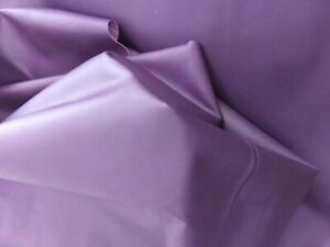 Pre- Cut Vegetable Tanned Purple  leather Lambskin 1.5 oz. 0.6 mm, Thin.