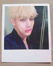 BTS V WINGS 2nd Album official polaroid photo card