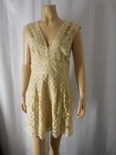 FREE PEOPLE Lace Dress size 0 XS Ivory NEW NWT