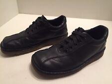Dr Martens Men's Black Leather Square Toe Casual Oxfords Size 7