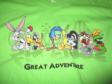 Great Adventure SIX FLAGS (MD) Shirt BUGS TAZ DAFFY MARVIN TWEEDY PEPE SYLVESTER