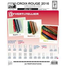 Jeux SC France carnets Croix-Rouge 2015-2016 avec pochettes de protection.