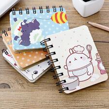 1PCS A7 Notebook Mini Cartoon kawaii Notebook 80 Pages Paper Notepad Diary Writt