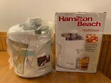 Hamilton Beach HealthSmart Juice Extractor 67800 Durable 350Watt Electric Juicer