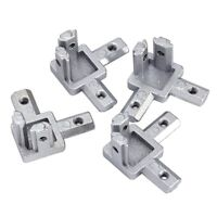 3-Way End Corner Bracket Connector for T slot Aluminum Extrusion Profile 20 G8Y1