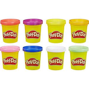 Hasbro Play-Doh 8er Pack Regenbogen, Kneten