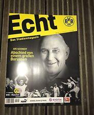 Programm Borussia Dortmund - FC Bayern München 19.11.16 FCB Programmheft Stadion