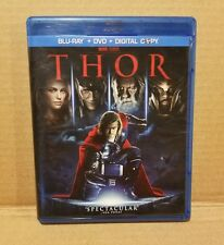 Thor (Blu-ray/DVD, 2011, 2-Disc set) Marvel Studios