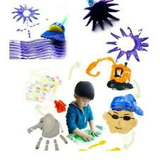 Rotate Spin Paint Drawing Sponge Brushes Kids Diy Flower Sponge Art Painting Set