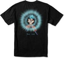 Black T-Shirt Energy Short Sleeve Tee Dragon Ball Super
