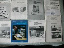 Tektronix 7854 Oscilloscope Application Note Collection 8 items GPIB IEEE-488