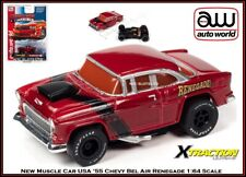 Auto World '55 Chevy Bel Air Muscle Car USA Rel. 30 Also Fits AW, AFX, JL