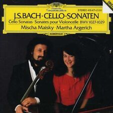Mischa Maisky, J.S. Bach - Cello Sonatas [New CD]