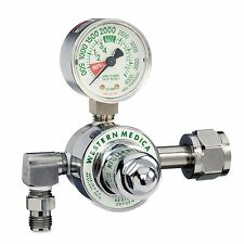 Oxygen Regulator for Large Cylinder - Preset 50 PSI - NEW