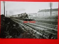 PHOTO  BR STANDARD CLASS 3 LOCO NO 76110 AT CARICKNOWE 4/7/59