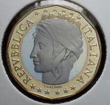 1997  Repubblica Italiana 1000  lire  FONDO SPECCHIO  da divisionale