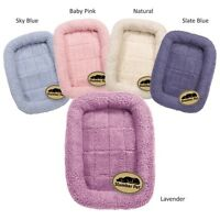 Sherpa Crate Dog Beds Soft Plush Comfortable Bed For Dogs Choose Size and Color