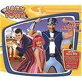Lazytown: The New Album +DVD, LazyTown, Very Good CD+DVD, PAL