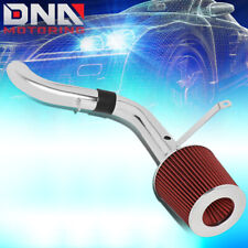 FOR 1998-2003 CHEVY S10/GMC SONOMA SHORT RAM AIR INTAKE SYSTEM+RED CONE FILTER