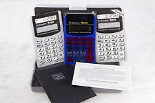 The Educator Overhead Intermediate Calculator With User Guide and Case