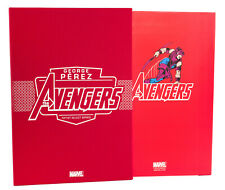 IDW Marvel Artists Select Series: AVENGERS by George Perez HC Signed & #'ed NEW!