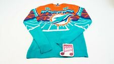 NFL MIAMI DOLPHINS LIGHT UP LED Sweater Leucht Pullover Gr. S #K512