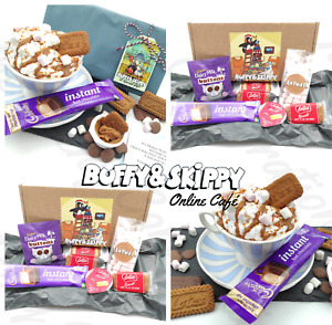 Personalised Hot Chocolate Sweet Gift Set Hamper Letterbox Marshmallow Christmas
