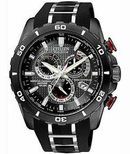 Citizen Mens AT4027-06E Perpetual Chrono A-T Limited Edition Eco-Drive Watch NEW