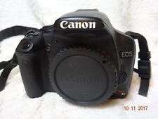 canon eos 550d Rebel T2i  kiss  X3 DSLR Camera Body Only With battery