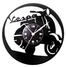OROLOGIO DA PARETE - In Vinile - Vintage Handmade Moto VESPA