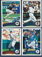 Complete Finish Your 2011 TOPPS Sets Series 1&2 1-660 Updates 1-330 U PICK 30